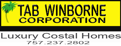 BEST CAROVA BEACH HOME BUILDER Tab Winborne 5 stars NC Custom Experienced Contractor 4x4 Luxury Costal Houses Swan Beach Carolla NC Phone 757.237.2802